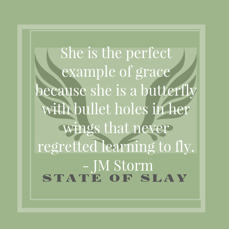 State Of Slay Butterfly