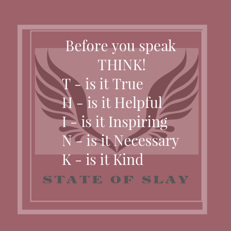 State Of Slay Think
