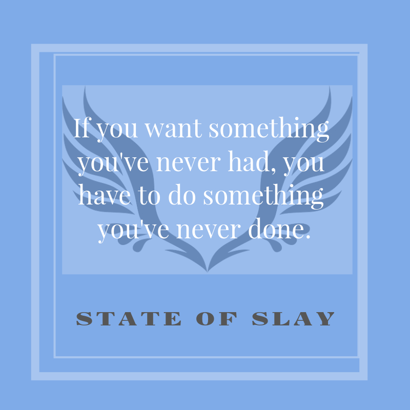 State Of Slay Comfort Zone