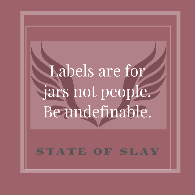 State Of Slay Labels