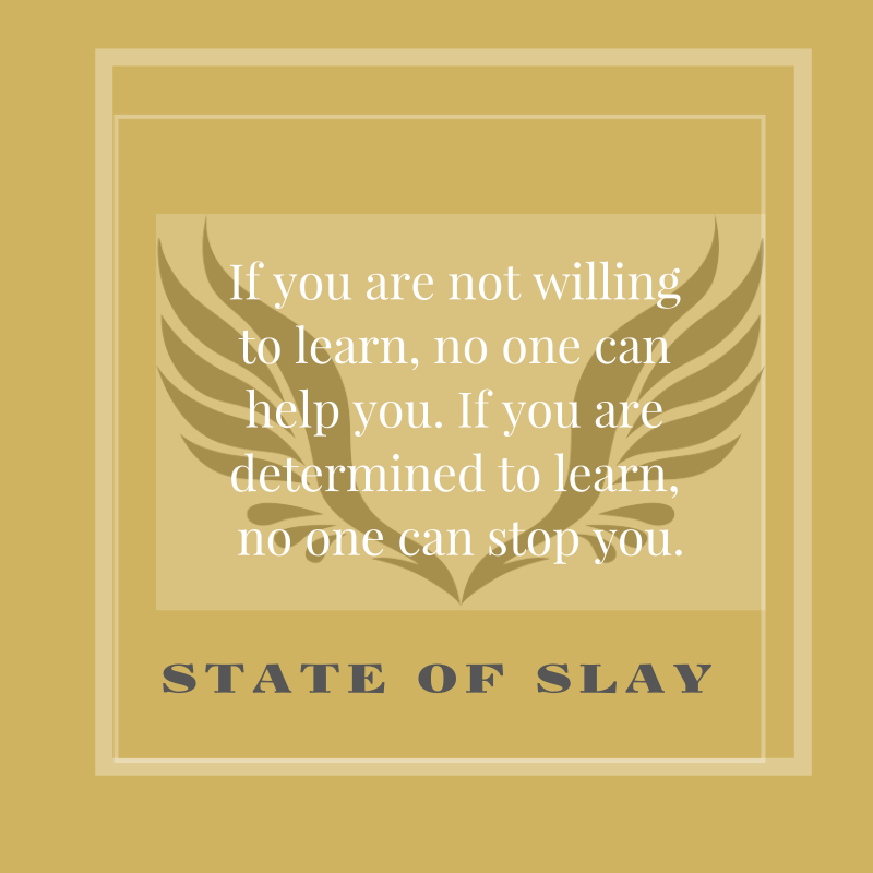 State Of Slay Learn