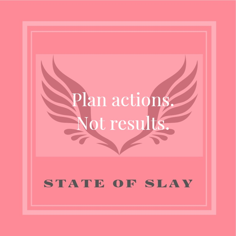 State Of Slay Plan Actions