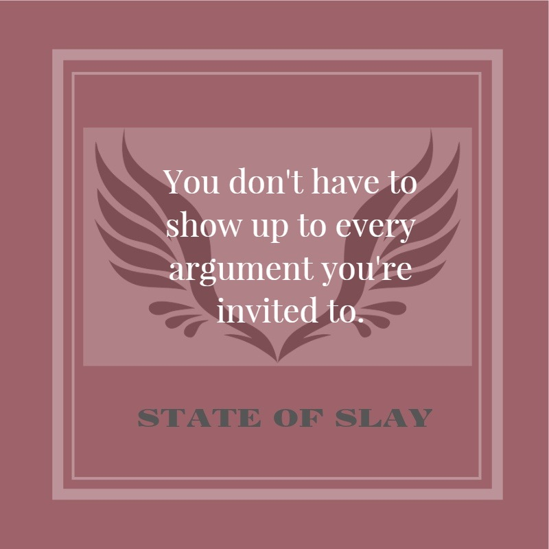 State Of Slay Argument