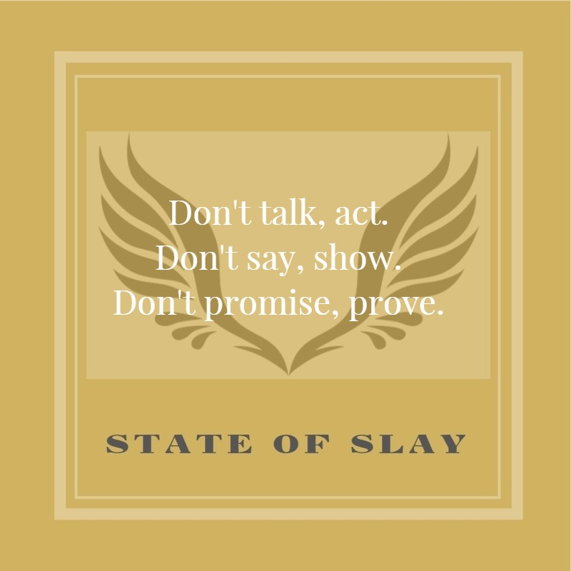 State Of Slay Act