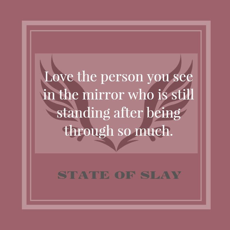 State Of Slay Love Mirror