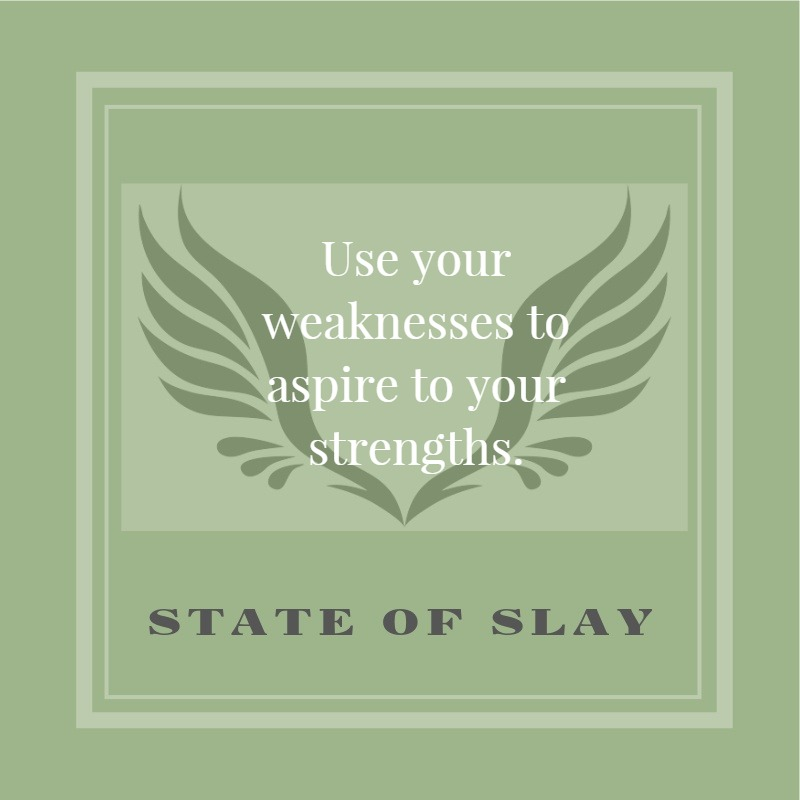 State Of Slay Aspire Strengths