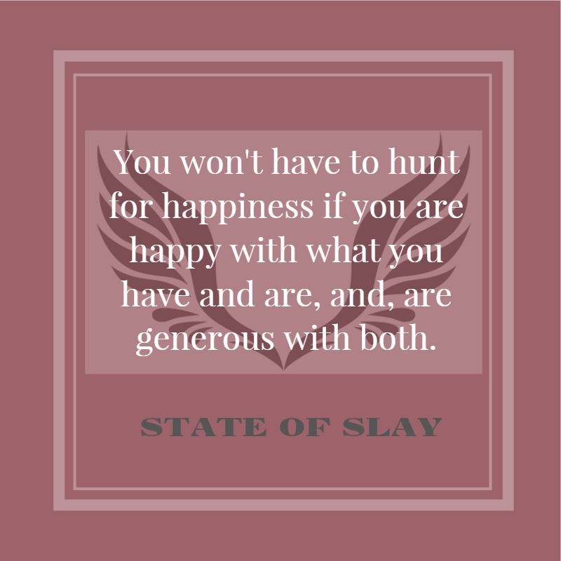 State Of Slay Pink Hunt For Happiness