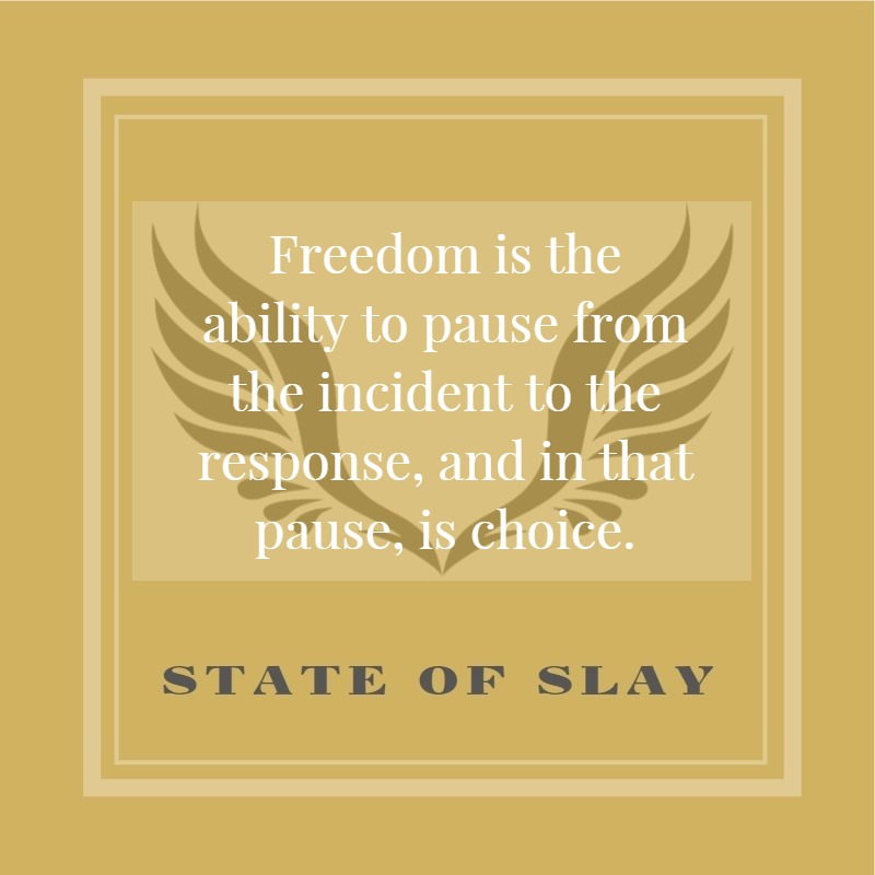 State Of Slay Freedom To Pause