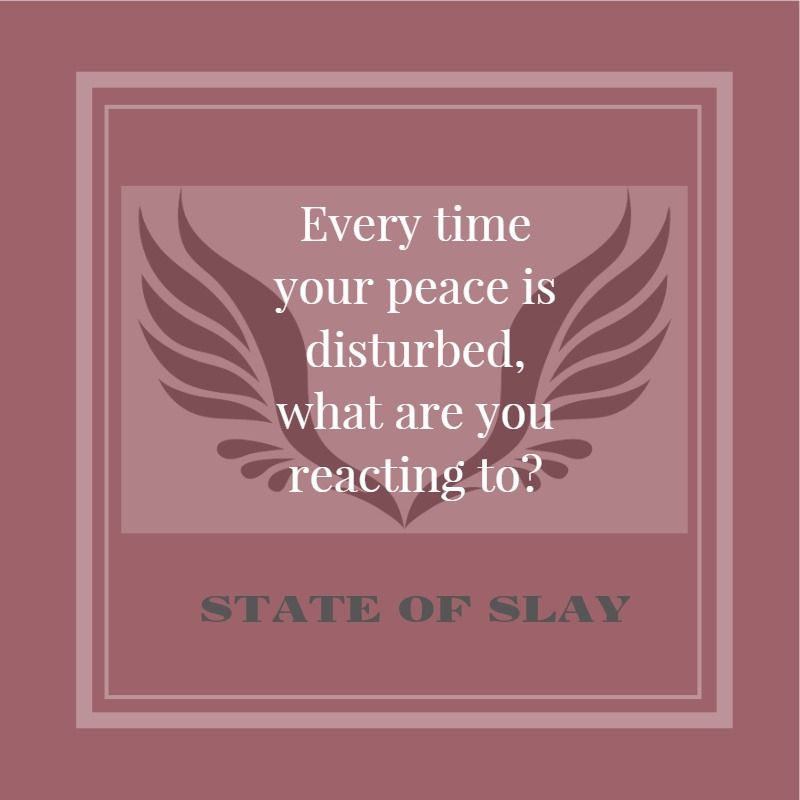 State Of Slay Peace Disturbed