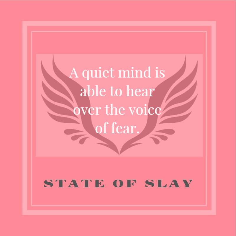 State Of Slay Quiet Mind