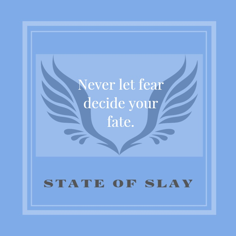 State Of Slay Blue Fear Fate