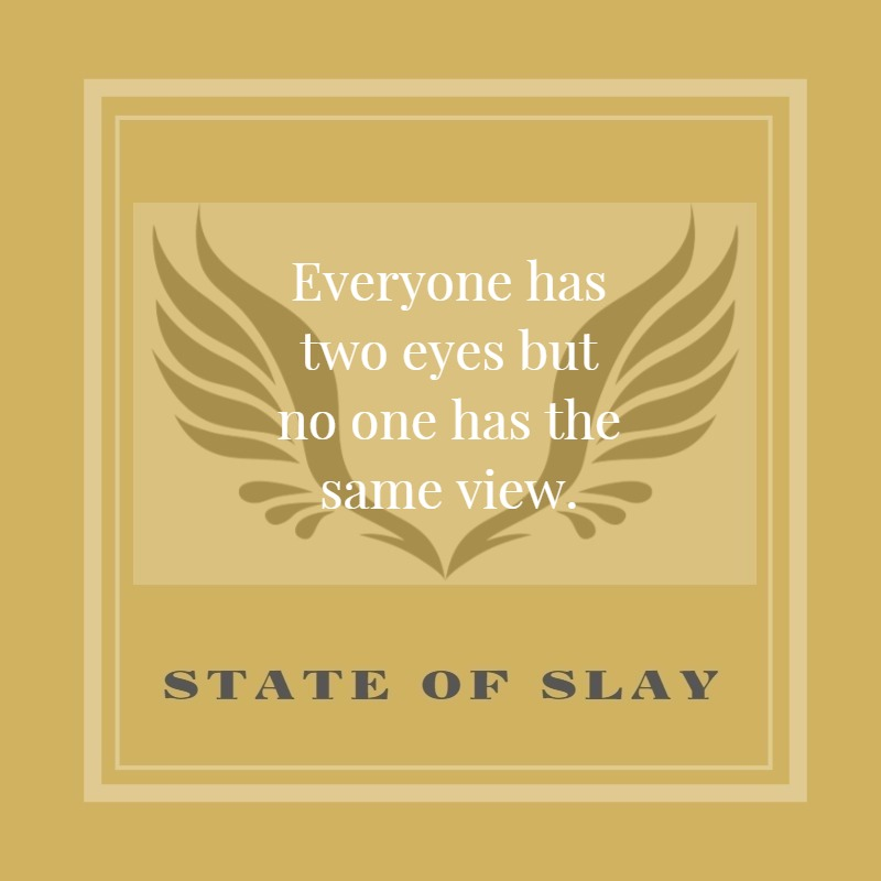 State Of Slay Same View