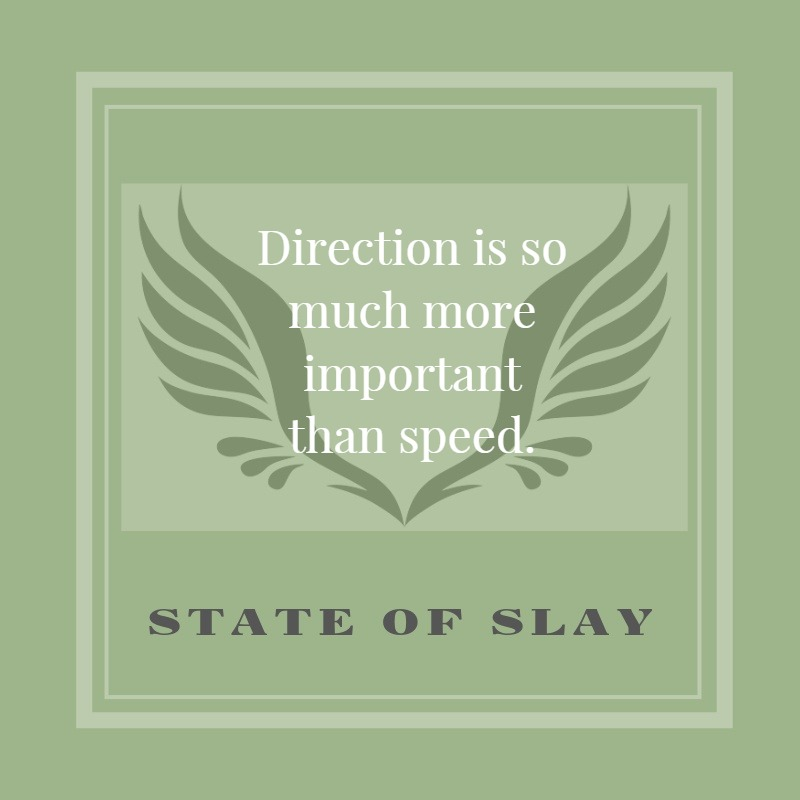 State Of Slay Direction