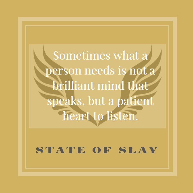 State Of Slay Patient Heart