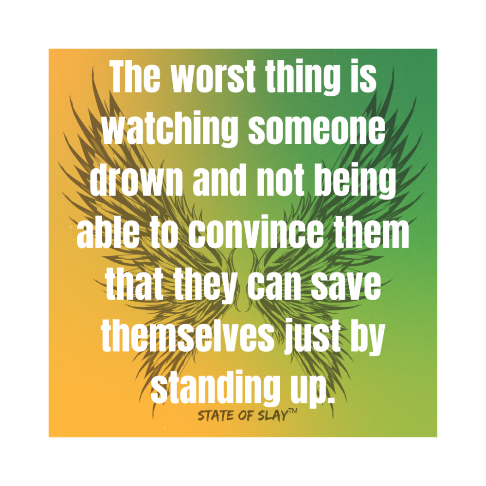 Just By Standing Up